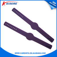 Hot selling TK4100 silicone wristband smart bracelet