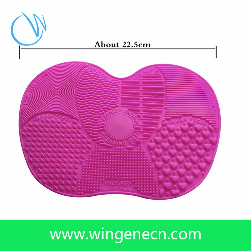 Silicone Makeup Brush Cleaning Cosmetic Mat
