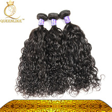 Fast DHL Shipping full end raw remy hair water wave mink malaysian hair soft and smooth