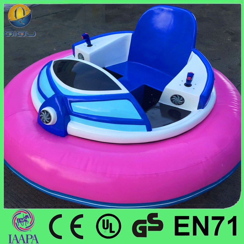New design FRP and PVC material Inflatable battery physics of bumper cars with brusheless motor for sale