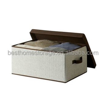 2017 High Grade Fabric Closet Storage Drawer Box Bin