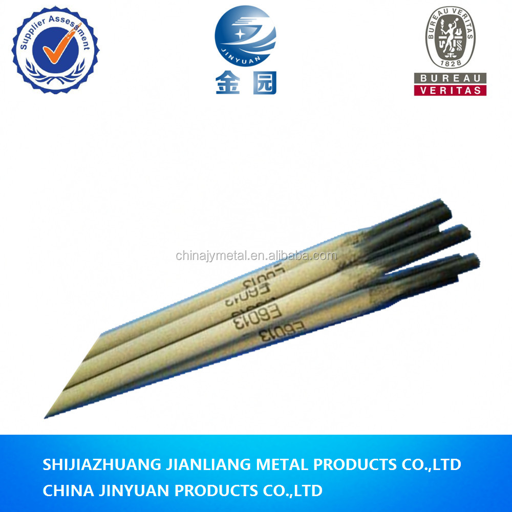 excellent quality titania type good weld shape carbon steel j421 aws e6013 e4313 welding electrodes