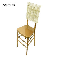 ONE STOP Wedding Rosette Chair Hood
