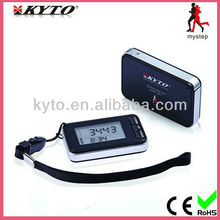 KYTO healthy life calorie step counter free 3d pedometer/3d activity monitor 2014