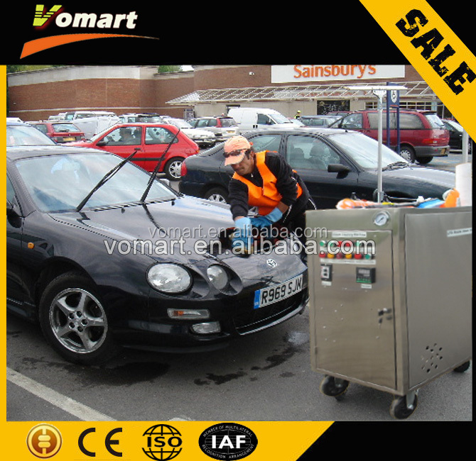 Two steam gun mobile steam car washing machine/steam tanks painting water jet cleaner