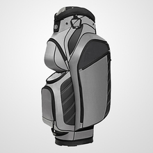 Functional fancy golf bag lockers with 15 dividers and insulated cooler pocket for golf Chaumetbag