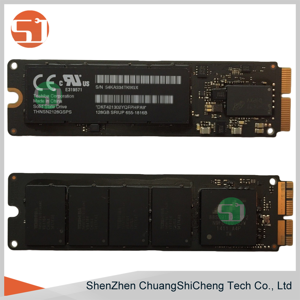 Tested Working for Apple Macbook Pro/Air A1465 A1466 A1398 A1502 2013 2014 2015 655-1816B PCIE SSD Solid State Drive