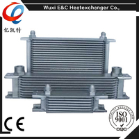 Universal Aluminum Air Compressor Hydraulic Fan Oil Cooler