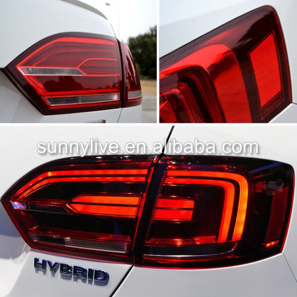For VOLKSWAGEN 2011-2014 Year New Jetta MK6 Sagitar LED Tail Light Red Color TC