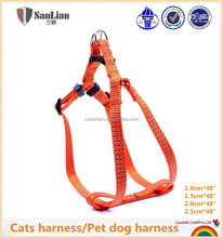 High-end safety cats harness/pet dog harness glowing in the dark