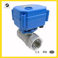 CR01 6v brass motorized ball Valve for feed water control