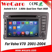 Wecaro WC-VL7060 Android 4.4.4 car stereo 1024 * 600 for volvo v70 car radio WIFI 3G GPS 2001-2004