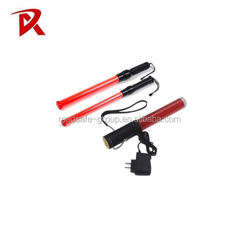 China LED Rechargeable Twinkle Traffic Safety LED Light police Warning Baton