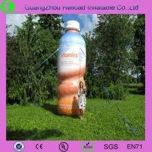 Best quality advertising inflatable water bottle