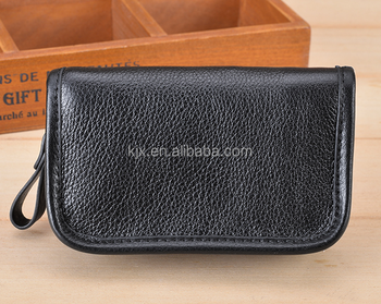 Mini Multi-function Wallet with Key Hooks
