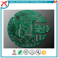 Electronic single sided design fabrication custom pcb