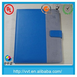 2014 2015 leather cover dairy notebook