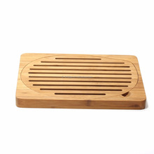 Bamboo bread board Slatted Bamboo Bread cutting board
