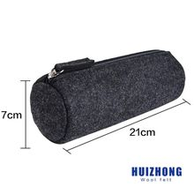Popular Europe eco-friendly felt pencil case for school students