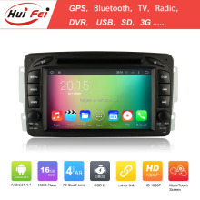 Huifei Quad Core A9 Android 4.4 Capacitive Screen 1024*600 Obd Dvr Mirror Link For Mercedes Benz C-Class W203 Car Dvd Player