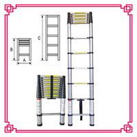 Household Cleaning Tools Foldaway Step Ladder Trestle Ladder