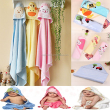 Baby Hooded Towel Pure Cotton Baby Wrap Children Bath Towel
