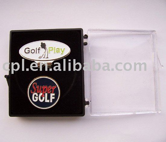 Hat clip and ball marker set