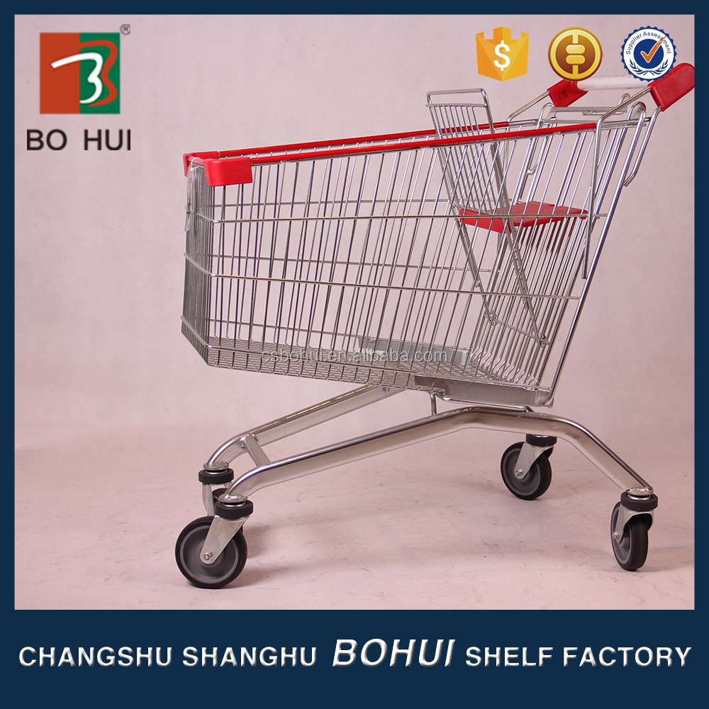 Eco friendly reusable trolley foldable shopping bag , foldable trolley cart