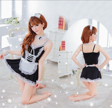 Sexy Women Sleepwear Lingerie Housemaid Maidservant Cosplay Role Play dress costume
