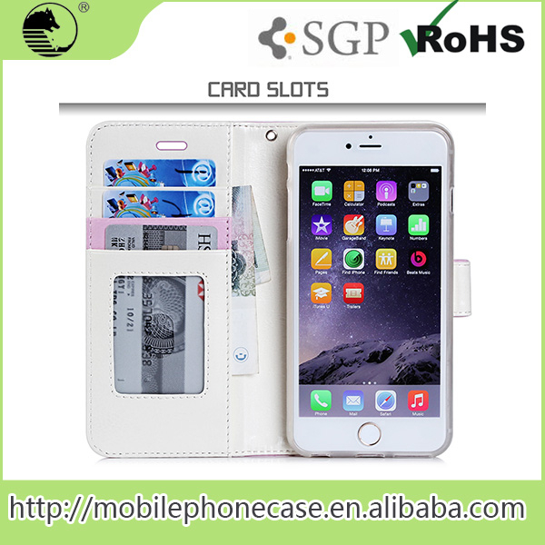 Top Selling Products 2015 PU+TPU Mobile Phone Case For iPhone 6 plus