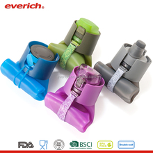 Everich BPA Free Silicone Water Bottle, Foldable Water Bottle, Collapsible Water Bottle with Custom Logo