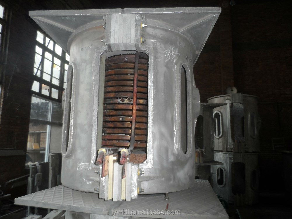 small induction smelting furnace for melting steel iron