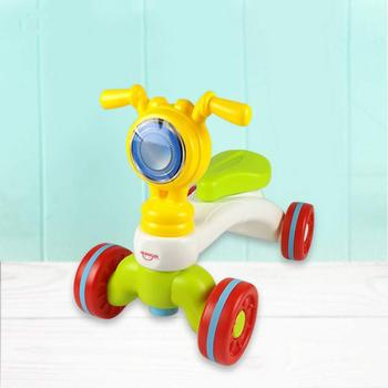 Wholesale New Design Small Plastic Toys 4 Wheels Car Toy Balance Walker For Baby