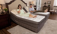 electric adjustable ergonomic bed massage