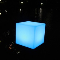 D30cm Cubes Colorful Useful Chairs&Tables Furniture LED Cube Lighting / Children Chairs