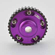 Engine Cam Gear Engine Cam Pulley Purple Aluminum Adjustable Cam Gears