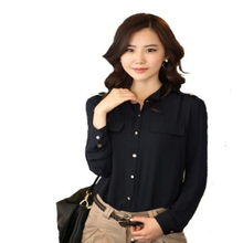 2014 office uniform designs for women blouses
