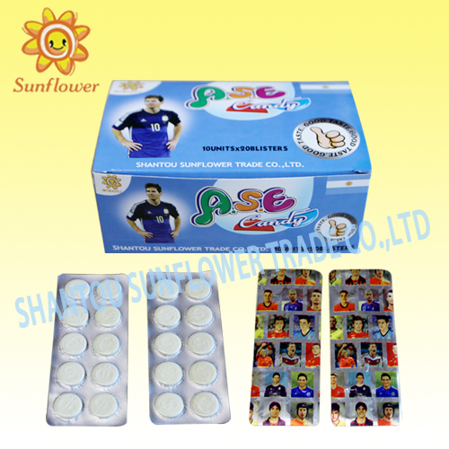 Africa Football Star Dry Milk Candy