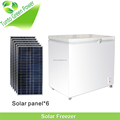 2016 250L Solar fridge with 24V10A mppt controller for Home,camping