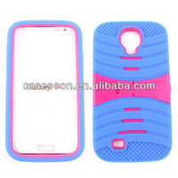 Mobile Phone Combo Case With kickStand For Samsung Galaxy S4 i9500