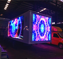 Scrolling LED Billboard Box Mounted on LED Display Truck for Sale in USA