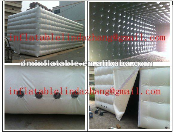 2012 hot selling advertising inflatable water cube/inflatable tent/dome for party/even