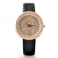 Top 10 brand High-end luxury belt ladies table full of stars crystal diamond casual fashion quartz watch