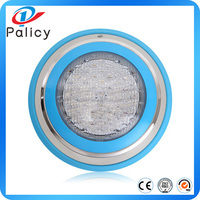 295mm ABS 12w submersible led rgb multi color led underwater swimming pool lights