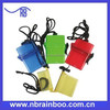Supply logo printing waterproof plastic mini beach storage box for promotion gift ABM164