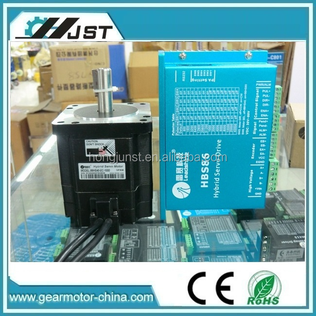 high quality Leadshine NEMA 34 Closed-Loop Stepper HBS806+86HS80-EC-1000