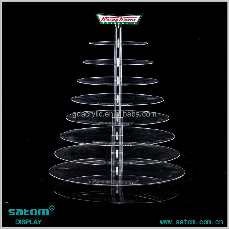 Wholesale Best-selling 5 Tiers Acrylic Wedding Cake Stand With Lighted