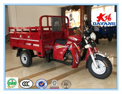Chongqing Dayang Heavy loading automatic three wheeler mini bucket motorcycle for sale in Kenya