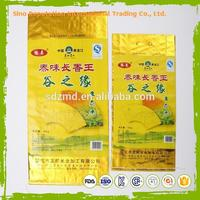 Professional food grade Plastic type fruit 50kgs pp flour bags with lamination with high quality