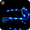 2015 China Supplier Promotional Cool Pumpkin Shaped Sunglasses With Led Light